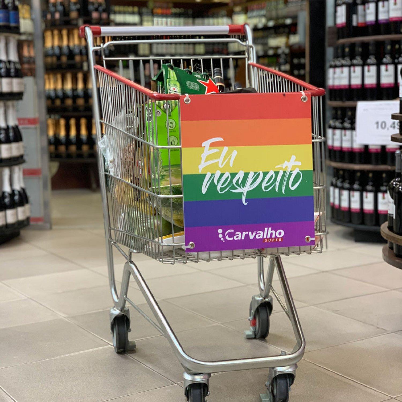 Carrinhos de supermercado no Piauí com apoio à diversidade? Temos! E é ideia CJFlash