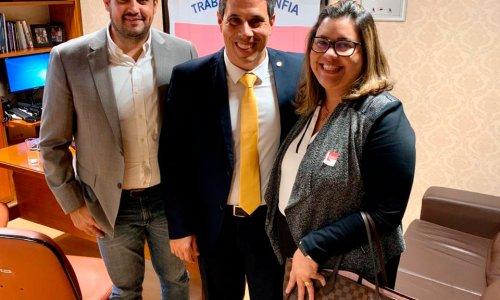 Expediente em Brasília: CEOs da CJFlash visitam clientes na Câmara Federal